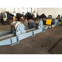 Quality Steel Bed 200 Ton Pipe Welding Rotator Tank Turning Rolls Wireless Control With Metal Roller for sale