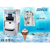 Buy cheap Floor Type Small Commercial Soft Serve Ice Cream Machine 3 Flavors 25 Liters from wholesalers