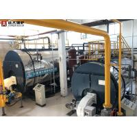 China 350Kw / 700Kw Oil Fired Hot Water Boiler Horizontal Automatic Running on sale