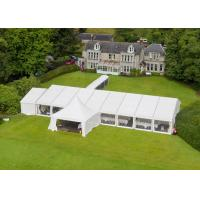 Quality Portable Wedding Party Tent , Outdoor Heavy Duty Marquee Tent 15 X 20 Meter for sale