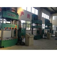 400T Vertical Four Column Hydraulic Press For Drawing Button Operation