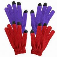Quality Touch screen gloves for women for sale