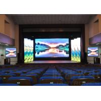 China SMD3535 p10 led panel RGB , slim Led Video Display Board For Meeting Room on sale