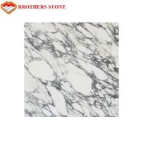 Italy White Marble Stone Arabescato Corchia Marble Slab For Bathroom Basin Countertop for sale