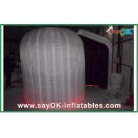 Quality White Inflatable Photo Booth With Led Lights Custom Inflatable Products for sale