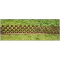Quality Long Lasting beautiful design WPC fence/Free maintenance Easy clean for sale