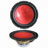 Car Subwoofer with Rubber Edge Injection Cone for sale
