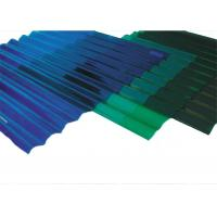 China Durable Corrugated Plastic Roof Panels, Transparent Corrugated Roofing Sheets on sale