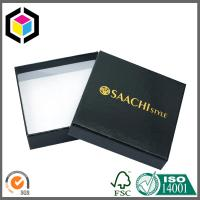 Buy cheap Gold Logo Printed Luxury Cardboard Paper Box; Lid Off Package Gift Box from wholesalers