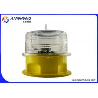 Quality Solar Mini Panel Low Power Consumption of 3W Long Life Span Aviation LED Obstruction Light for sale