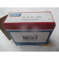 Buy GE40ES-2RS Rubber Seals Plain Spherical Bearing For Forging Machine ISO at wholesale prices