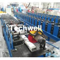Quality Downspout Machine / Suqure Tube Cold Roll Forming Machine for Making Rectangular Tube for sale
