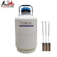 Quality TIANCHI 10L liquid nitrogen cylinder YDS-10 in Lithuania for sale