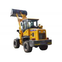 Quality 4WD 1 Ton Mini Wheel Loader / Compact Front End Loader With CE ISO Approved for sale