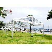 China 9x12M Clear Tent PVC Party Tent strong windload and waterproof for sale