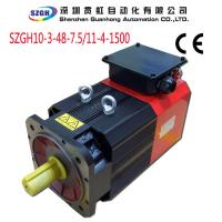 China Induction Spindle Servo Drive Motors For Woodworking CNC Machine 7.5KW on sale