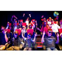 Quality Fantastic 7D Cinema System With Adventure Movies , Flexible Motion Chairs for sale
