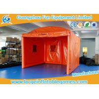Buy cheap Orange Oxford Outside Small Inflatable Bubble Tent For Party / Event from wholesalers