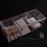 Quality wholesale acrylic makeup organizer with drawers for sale