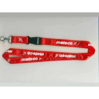 Quality cheap printed satin lanyards for sale