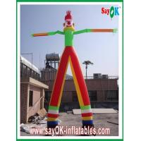 Quality Earth-friendly Inflatable Air Dancer , Wind-resistant Inflatable Waving Man for sale