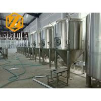 China 30HL Conical Beer Fermenter 304 Material Pressure Tank 72 Degree Cone Angle on sale