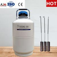 TIANCHI Cryogenic Container 10L Industrial Storage Tank With Straps Carry Bag for sale