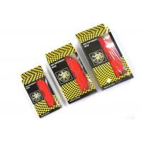 Buy Auto Caliper Brake Covers / Red Brake Pad Covers Increase The Braking Effect at wholesale prices