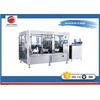 Quality High Speed Beverage Filling Machine  , Automatic Soda Bottling Machine DCGF12 - 12-5 for sale