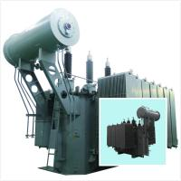 Double Column Electrical Power Transformer 35kV - 6300kVA Low Loss SZ Series