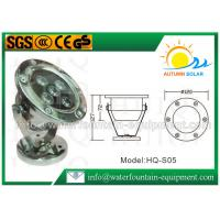 Quality IP68 Waterproof Underwater Fountain Lights Single Color AC24V Corruption Resistance for sale