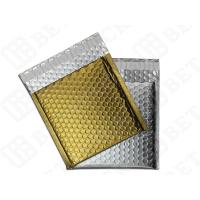 "Quality Silver / Golden Metallic Bubble Envelopes Aluminum Foil Envelopes 12.75""×10.5"" for sale"