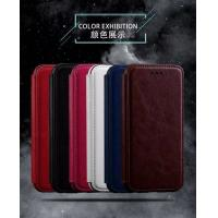 Quality Book Cover IPhone Leather Wallet Case For Iphone 7 Plus Flip Stand Two Card Slot for sale