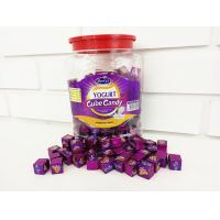 Quality 2.75g Compressed Healthy Hard Candy / Yogurt Cubes In Jars OEM for sale