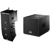 Quality Wooden Cabinet Professional Theater Subwoofer Smooth Sound Flying Line Array for sale