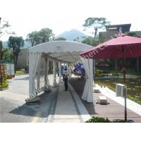 China 4M UV Resistant PVC Fabric Outdoor Exhibition Tents , Waterproof Aluminum car show tent on sale