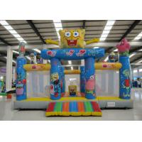 Quality Amusement Park Kids Inflatable Bounce House Digital Printing Fireproof  Material for sale