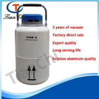 Best quality liquid nitrogen container 3 L semen cell storage container for sale