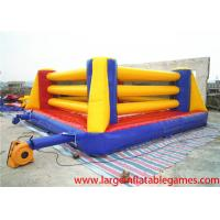 Quality Exciting Inflatable Sport Games Bouncy Boxing Ring For Teenagers Games for sale