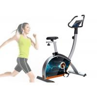 Quality Smooth Controlling Smart Exercise Bike Quad Core With Replaceable Tablet for sale