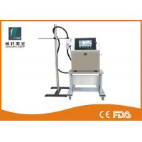 China Label / Expiry Date Printing Machine , Continuous Inkjet Printer For Batch Coding on sale