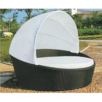 Quality Modern garden round rattan daybed furniture for sale