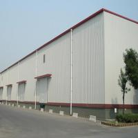 Q235 345B Workshop Steel Buildings / Steel Structure Warehouse With Drawings for sale