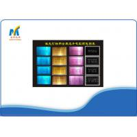 Quality Blank Metal Business Cards Laser Colorful For A4 / A3 Sublimation Paper for sale