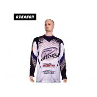 Quality Sun Protection Fishing Tee Shirts , Lightweight Fishing Shirts No Fading Sublimated for sale