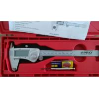 Quality IP54 Silver Metal Casing Electronic Digital Caliper 150mm 3V Lithium battery for sale