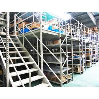 Quality Blue , Orange Economical Rack Supported Mezzanine Steel Shelving Systems for sale