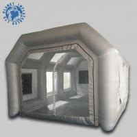 China Economical Inflatable Spray Booth 10 Mm Thickness Filter Low Noise on sale