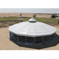 Quality Water Resistant Large Aluminum Glass Marquee Tents For Birthday Party for sale