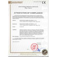 Zhangjiagang Sunswell Machinery Co., Ltd. Certifications